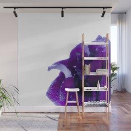 Purple rose Wall Mural