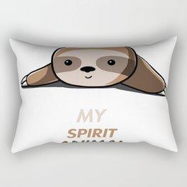 My animal spirit - Sloth Rectangular Pillow