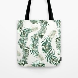 tropical leves wild Tote Bag