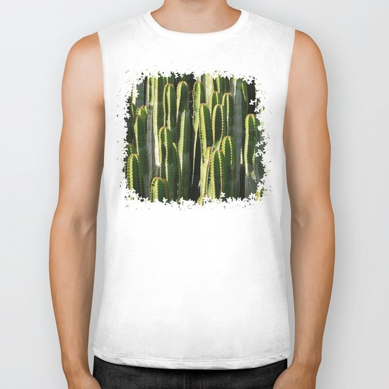 Prickly Day Biker Tank