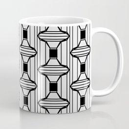 Square Filled Frame Pattern Coffee Mug
