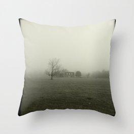 Through the Fog Throw Pillow