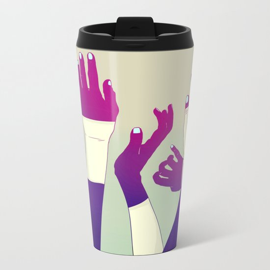 Crowd Metal Travel Mug