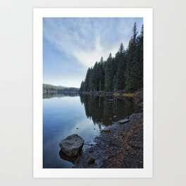 Afternoon at Clear Lake Art Print