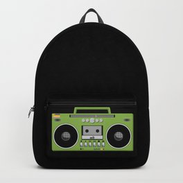 Retro Ghetto Blaster Backpack