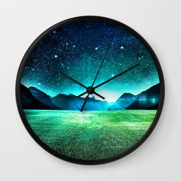 Sky Light Wall Clock