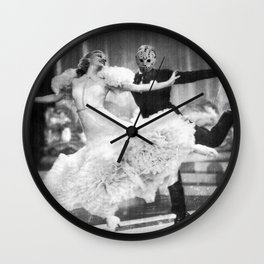 Jason Vorhees as Fred Astaire Wall Clock
