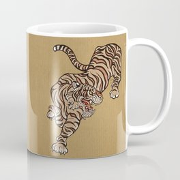 Tiger in Asian Style Coffee Mug