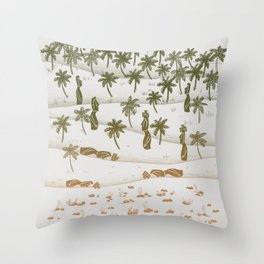 Ecocide Throw Pillow