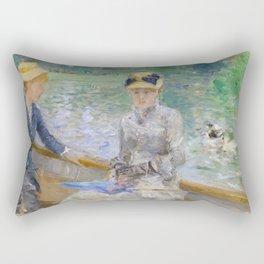 Summer's Day by Berthe Morisot Rectangular Pillow