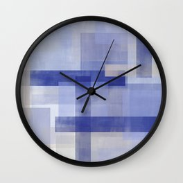 Untitled No. 5   Violet + Lavender Wall Clock