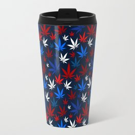 American Weed Pattern Travel Mug
