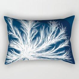 Mycelium in a petri dish Rectangular Pillow