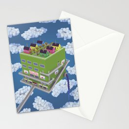 Little Boxes Stationery Cards