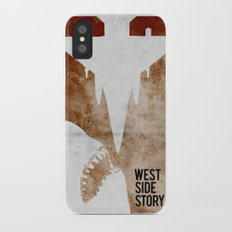 west side story Slim Case iPhone X