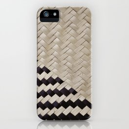 light and shadow straw iPhone Case