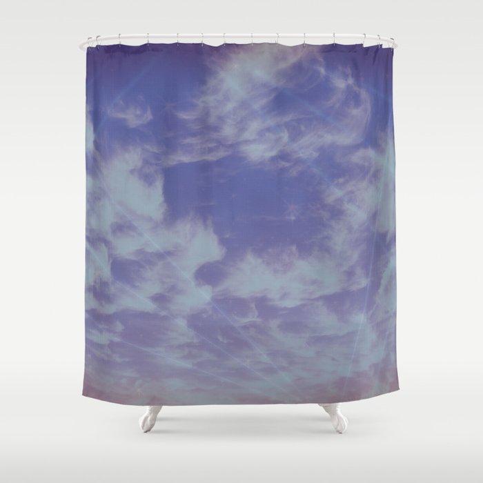 Future Skies Shower Curtain