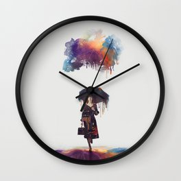 The Less I Know The Better Wall Clock