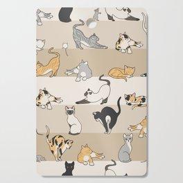 Cat & Mouse Cutting Board