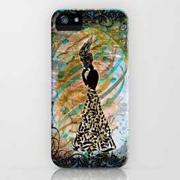 Persian Nostalgia iPhone Case