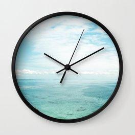 California - As Spring Rolls In Wall Clock