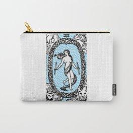Modern Tarot Design - 21 The World Carry-All Pouch