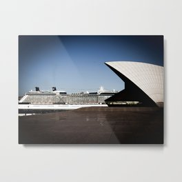 Cruise Ship In Sydney Metal Print