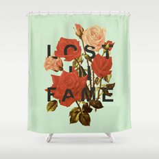 Lost In Fame Shower Curtain