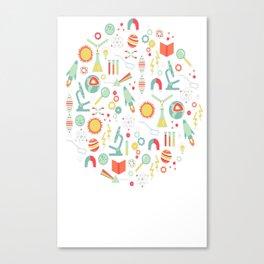 Science Studies Canvas Print