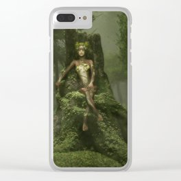 The Heart of the Forest Clear iPhone Case