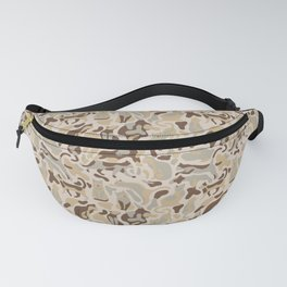 Camouflage pattern with CATS Fanny Pack