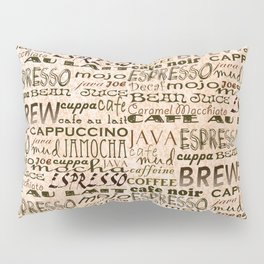 Coffee and Cream Pillow Sham