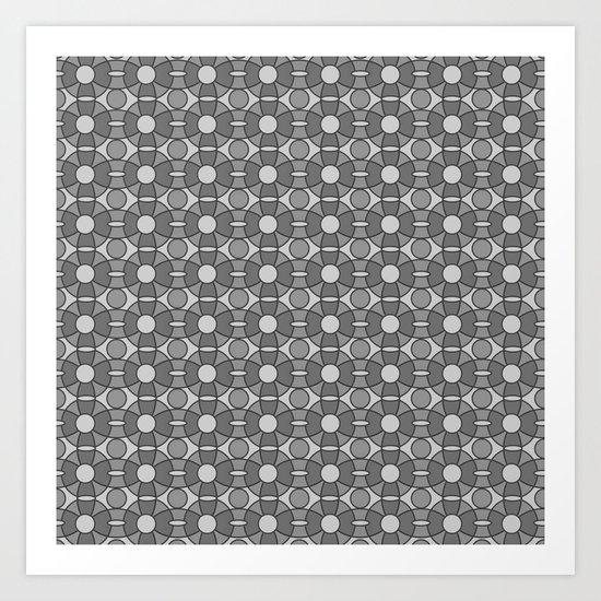Pattern C Art Print