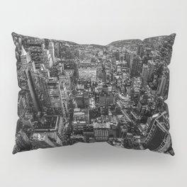 Black and White New York City Pillow Sham