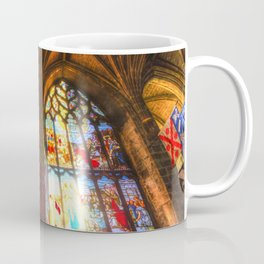 Cathedral Stained Glass Window Coffee Mug