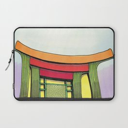 Cactus Pagoda Architectural Design 53 Laptop Sleeve