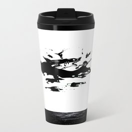Ink Shark Metal Travel Mug