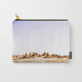 Mystery Planet - Trona Pinnacles Tufa Spires Carry-All Pouch