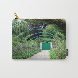 Monet's Garden Gate  Carry-All Pouch