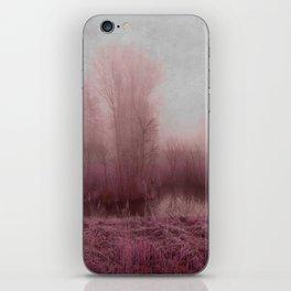 Fog country in my dreams iPhone Skin