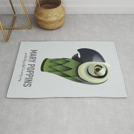 Mary Poppins - Alternative Movie Poster Rug