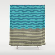 FOR SHORE Shower Curtain