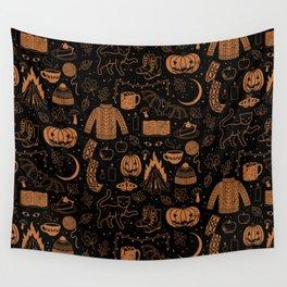 Autumn Nights: Halloween Wall Tapestry