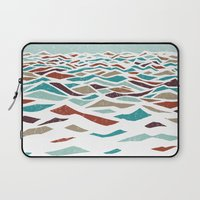 lol Laptop Sleeves featuring Sea Recollection by Efi Tolia