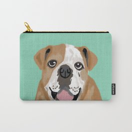 Roscoe - English bulldog dog dogs pet pets gifts for dog person dog people  Carry-All Pouch
