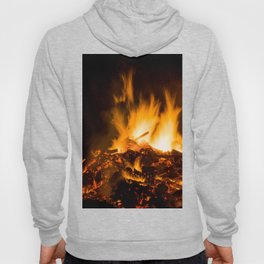 Fire flames Hoody