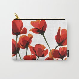 Poppy flowers design Carry-All Pouch