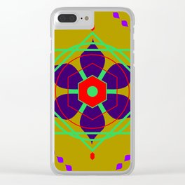 Multidimensional Guardian Clear iPhone Case