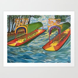 Xochimilco Mexico Art Print