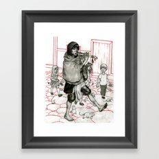 Piper Original Framed Art Print